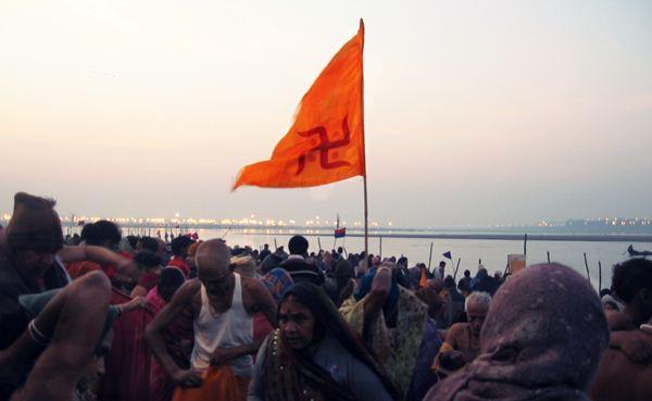A scene from the Maha Kumbh Mela_  Copyright backslash Sarandha