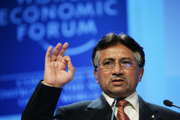 Pervez Musharraf Flickr / World Economic Forum