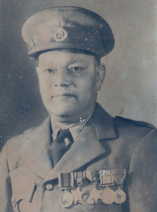 The late Prafulla Chandra Dasgupta, Superintendent of Police in Shillong, soon after opting for India, 1947. Image: Dasgupta family