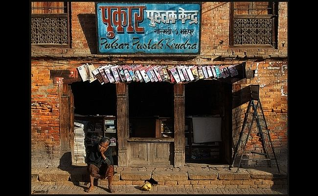 A bookstore in Bhaktapur in 2008. Flickr / Sukanto Debnath
