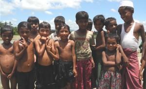 Rohingya children in Maungdaw, northern Rakhine state. Images: Eric Paulsen