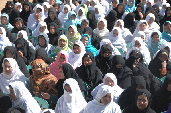 Flickr/ isafmedia. International Womens Day at Nili, Day Kundi Providence, Afghanistan.