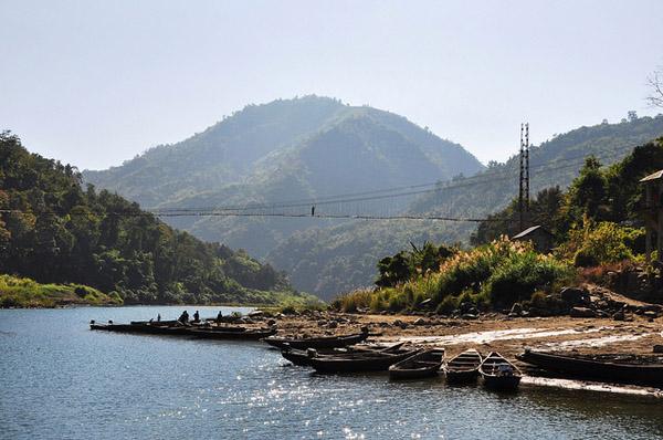 Chimtuipui River. Mizoram. Flickr / rajkumar1220