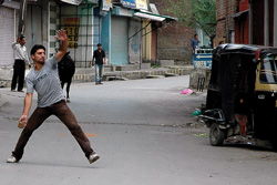 Kashmiri teen killed during an anti-Israel protest