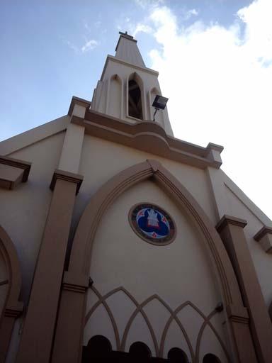 Prsebyterian Church Aizawl Photo by the author.