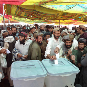 Electoral systems in Southasia