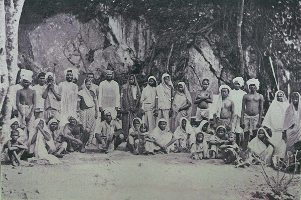 We mourn the loss of a noble daughter of India who did her simple duty without question and who has set an example of womanly fortitude, pride and virtue, that will, we are sure, not be lost upon the Indian community.  Newly arrived Indian coolies in Trinidad. Photo: Wikimedia Commons