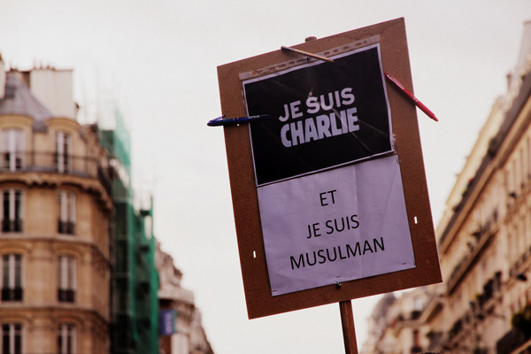'Je suis Charlie' has become the new mantra of the self-described 'liberal West', while Muslims from all walks of life are expected to condemn and apologise for the attacks.