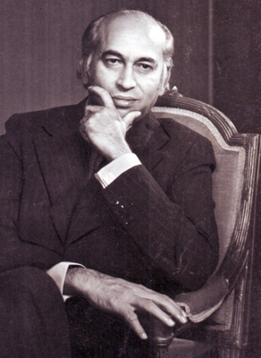 Zulfikar Ali Bhutto, the one-time hero of Pakistan's working class.   Photo: Flickr / Doc Kazi
