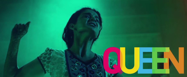 A still capture from 'Queen' starring Kangana Ranaut.