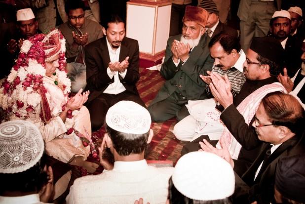 A Southasian Muslim wedding ceremony Photo : Flickr / Kunjan Detroja