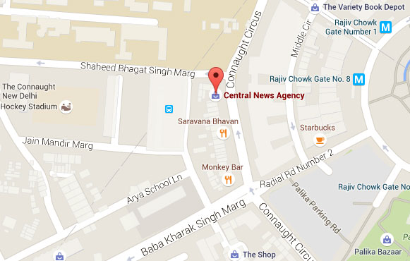 Central News Agency map