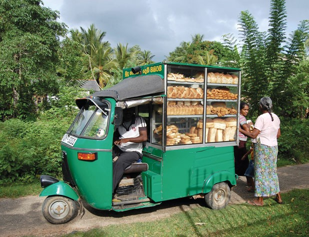 Morning bread delivery in Galle. Image: Flickr/MichelleBFlickr