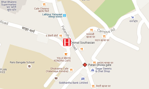Himal office map