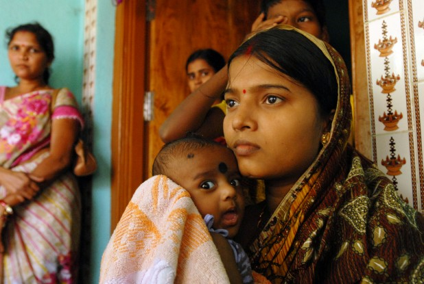 In India, there are 56,000 pregnancy-related deaths every year. Photo credit : Flickr / Pippa Ranger / DFID