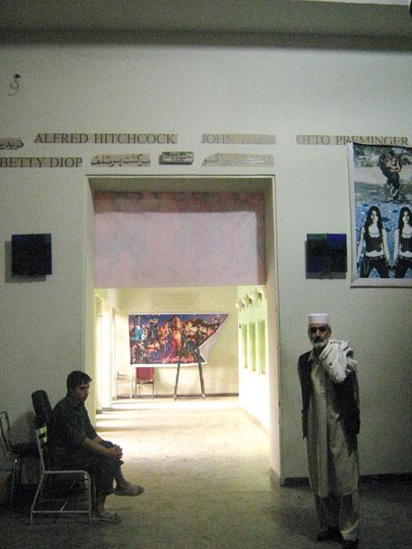Inside a cinema in Kabul. Flickr/Anuradha Sengupta