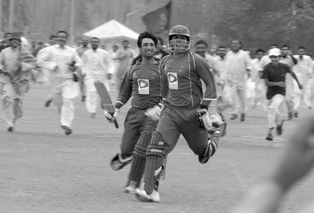 Batting for Afghanistan: after qualifying for the ICC World Cup in October 2013 and upsetting Australia at the under-19 World Cup in February 2014, the joy of cricketing success is likely to be ongoing for Afghans.  flickr / Afghanistan Press Kit Uploads