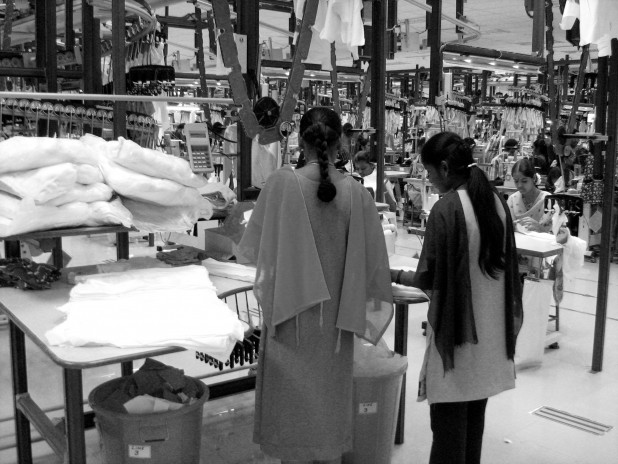 A look at garment production in Tirupur, also known as 'Knit City'. Image: S Gautham