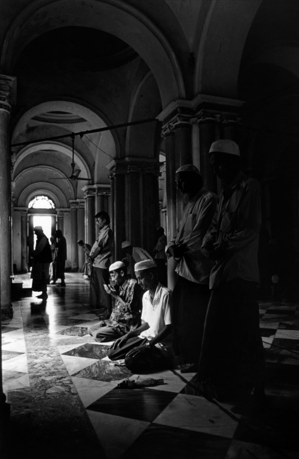 Jama Mosque, Sittwe, Arakan State, Burma 2006.