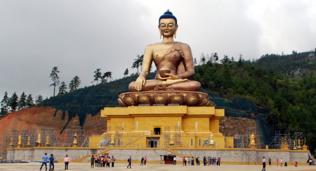 Buddha Dordenma (Photo: Prabina Karki/ Wikimedia Commons)