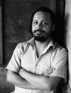 Novelist and translator Prawin Adhikari. Photo: Iona Liddell