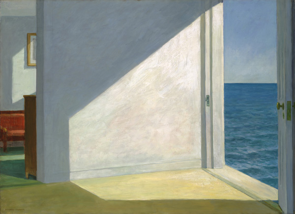 'Rooms by the Sea' (1951) by Edward Hopper. Photo by: Yale University Art Gallery