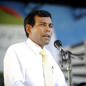 Mohamed Nasheed. Photo: presidencymaldives / Flickr