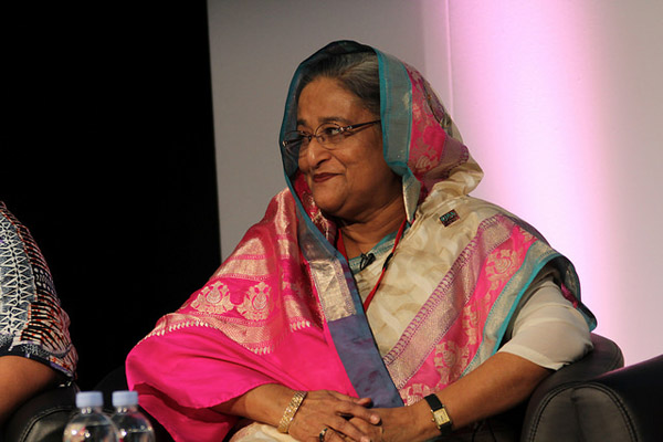 Prime Minister of Bangladesh Sheikh Hasina. Photo: dfid / Flickr
