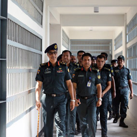 Jail time in Bangladesh